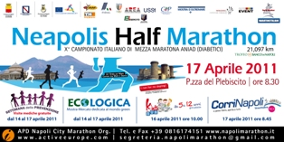 Locandina Neapolis Half Marathon 2011