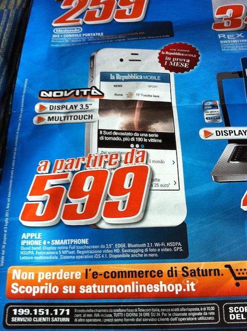 volantino-saturn-sconto-iPhone4