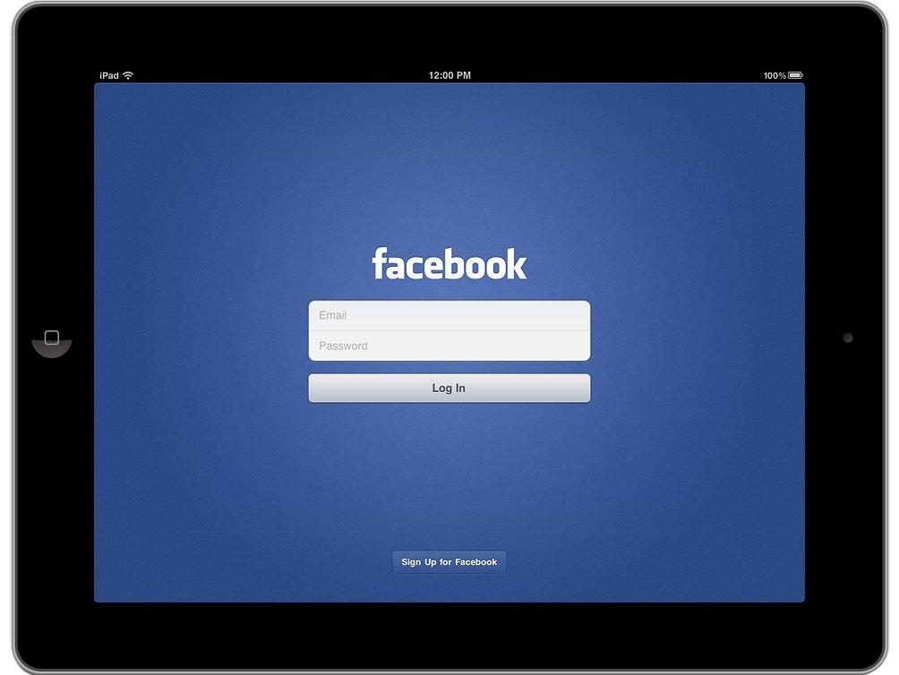 facebook-per-iPad0