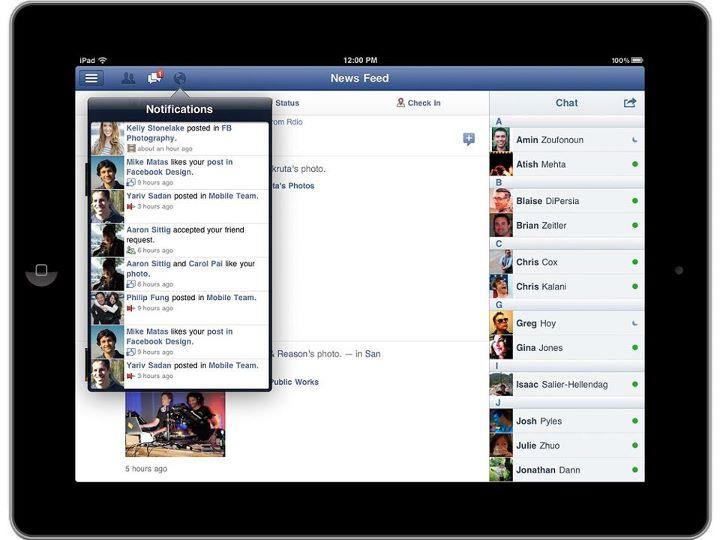 facebook-per-iPad2