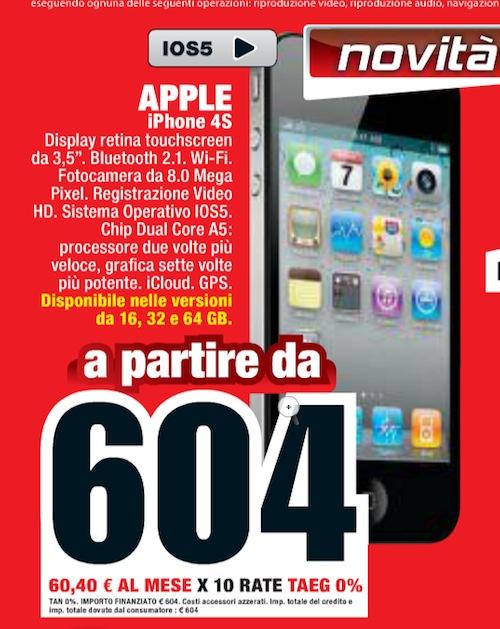 iPhone4S-offerta