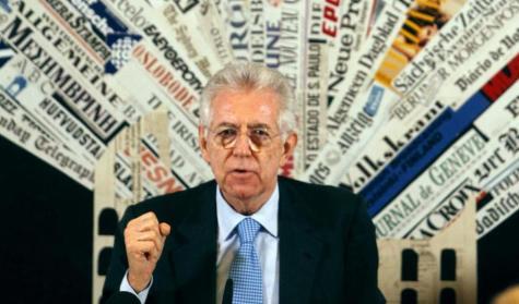 Monti conferenza stampa di fine anno 2