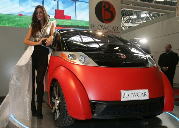 blowcar motor show 2011