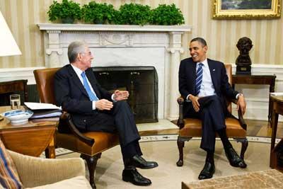 incontro monti_obama
