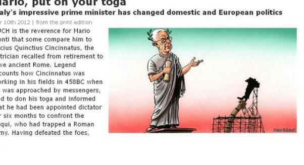 the economist monti