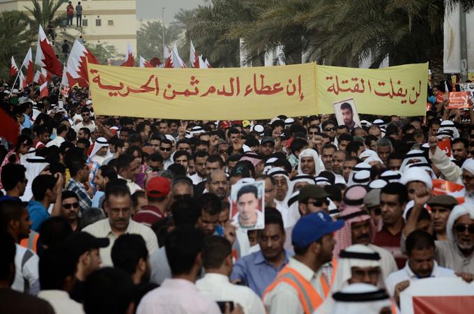 manifestazioni bahrain F1